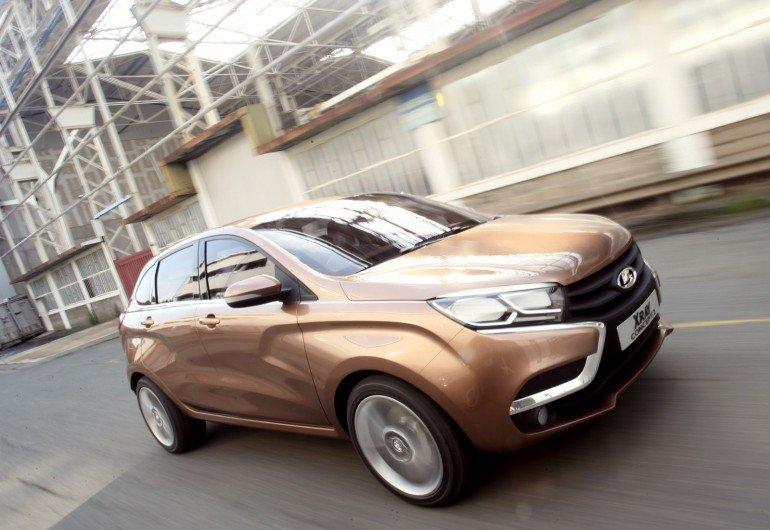 АВТОВАЗ сварил первый кузов новой модели Lada XRay