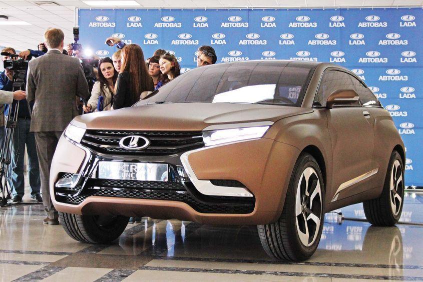 Новые дизайны автоваза